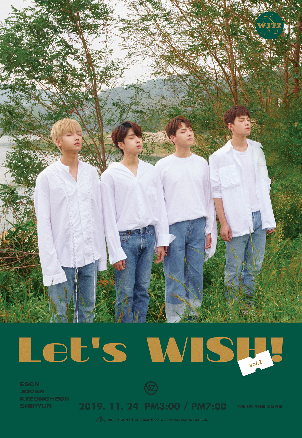 Let's WISH! vol.1