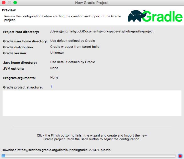 create-gradle-project