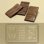 아모르 카드 초콜릿 몰드 (3구)