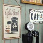 카페 틴 벽걸이