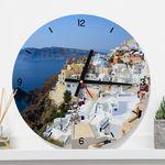 tb061-아름다운산토리니인테리어벽시계