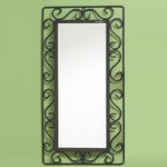 심플  라인 벽 거울 소