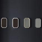 로폴드 - 제이드 8각거울 (메탈)